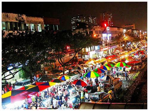 Pasar Malam Ngarsopuro Solo