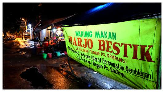 Harjo Bestik, Warung Makan Steak Khas Jawa
