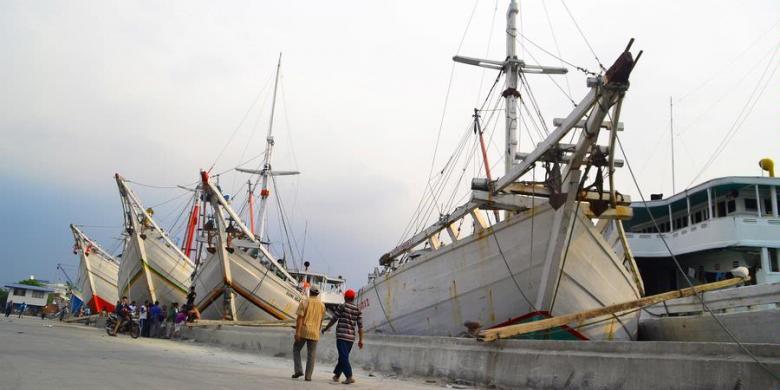 Pelabuhan Sunda Kelapa (foto: Kompas.com)