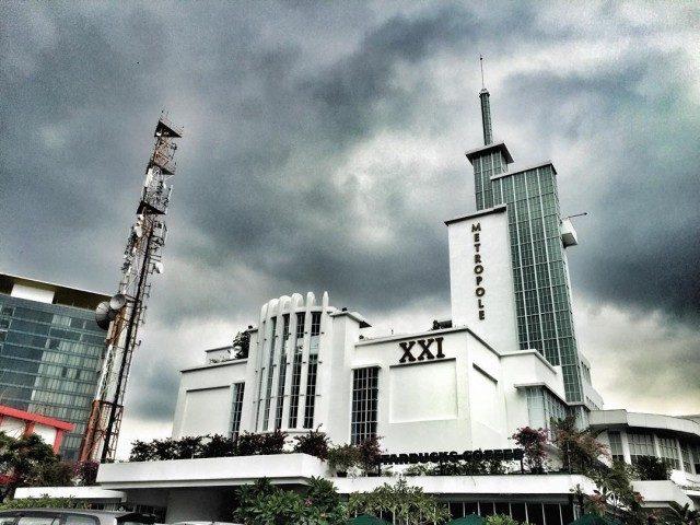 Bioskop Metropole (foto: Instagram @melatifrsk)