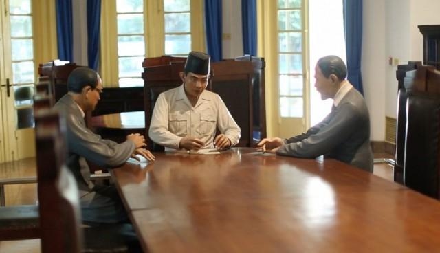 Diorama di Museum Perumusan Naskah Proklamasi (foto: vidio.com)