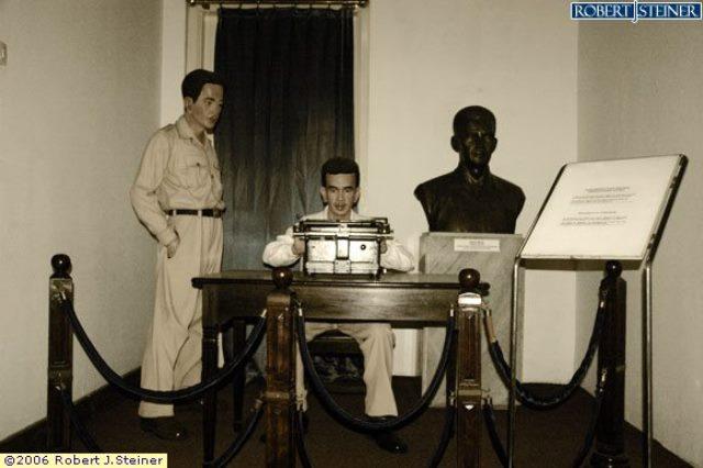 Diorama di Museum Perumusan Naskah Proklamasi (foto: Robert J. Steiner)